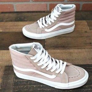 51554c565190c Vans Shoes - Vans Sk8-Hi Fawn Mauve Skate Shoes